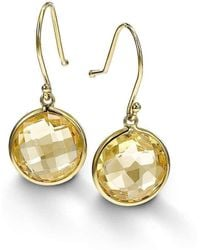 BCOUTURE - Single Citrine Drop Earrings - Lyst