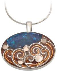 AVA Goldworks - Bluebell Opal Pendant - Lyst