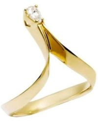 Daou Jewellery - Photon Ring - White Diamond - Lyst