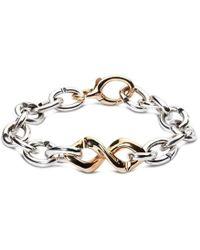X Jewellery - Bronze Dna Bracelet - Lyst