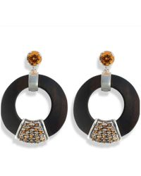Hissia - Orange Luz Earrings - Lyst
