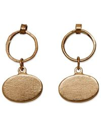 Sarah Macfadden Jewellery - The Amy Earrings Gold - Lyst