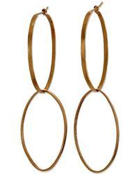 Sarah Macfadden Jewellery - The Elizabeth Earrings In Gold - Lyst