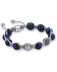 Atolyestone London - Kyanite Macrame Bracelet - Lyst
