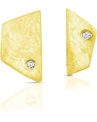 ENJI Studio Jewelry - Paloma Earrings In Yellow Gold - Lyst