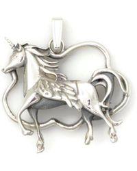 Donna Pizarro Designs - Sterling Silver Unicorn Pendant - Lyst