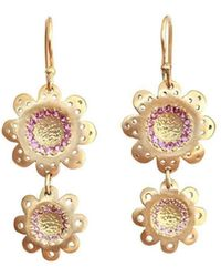 Michal Bendzel Friedman Jewelry Design - Mimtarim Sapphire Drop Earrings - Lyst
