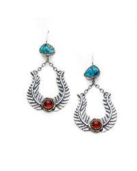 Meltdown Studio Jewelry - Pluma Earrings - Lyst