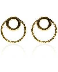 Carao Jewelry - Cadence Ear Jackets Gold Plated - Lyst