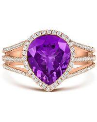 Tivon Fine Jewellery - Tivon Purple Gelati Ring - Lyst