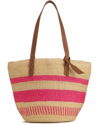 Jigsaw - The Basket Room Woven Tote Bag - Lyst