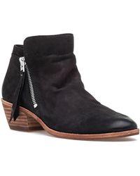 Sam Edelman - Packer Bootie Black Leather - Lyst