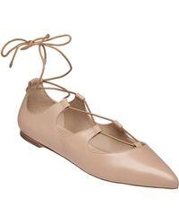 Loeffler Randall - 'ambra' Pointy Toe Ghillie Flat - Lyst