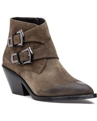 275 Central - H3 Buckle Boot Taupe Suede - Lyst