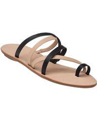 Loeffler Randall - Sarie 2-tone Leather Sandal - Lyst