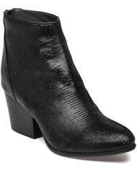 275 Central - 1575 Ankle Boot Black Distressed Leather - Lyst