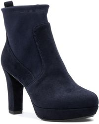 275 Central - 2568800 Boot Navy Suede - Lyst