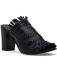 275 Central - 1723 Sandal Black Leather - Lyst