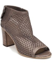 275 Central - Perforated Bootie Taupe Leather - Lyst