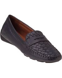 Robert Zur - Petra Loafer Navy Leather - Lyst