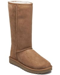 Ugg | Classic Tall Ii Chestnut Suede | Lyst