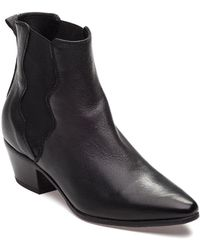 275 Central - 1010 Black Leather Boot - Lyst