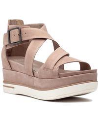 Eileen Fisher - Boost Sandal Latte - Lyst