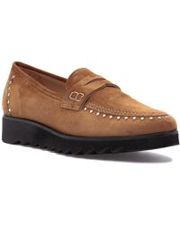 275 Central - 825 Loafer Cognac Suede - Lyst