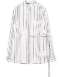 Jil Sander - Giusy Striped Shirt - Lyst