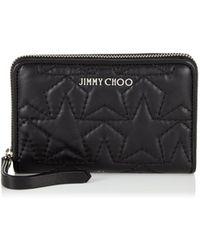 Jimmy Choo - Halley Brieftasche Mit Reiverschluss - Lyst