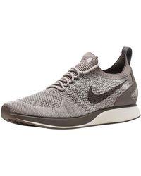 618ffe497b03f6 Lyst - Nike Air Zoom Mariah Flyknit Racer Sneaker in Red for Men