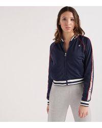 Champion - Womens Track Jacket - Lyst