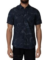 G-Star RAW - Landoh Chambray Shirt - Lyst