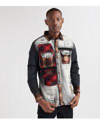 Heritage - Denim 'n Plaid Long Sleeve Shirt - Lyst