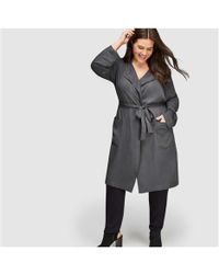 Joe Fresh - Women+ Drapey Tie Trench Coat - Lyst