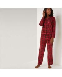 Joe Fresh - Fleece Sleep Set - Lyst