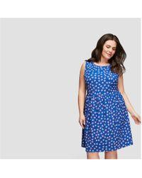 Joe Fresh - Women+ Print Sleeveless Dress - Lyst