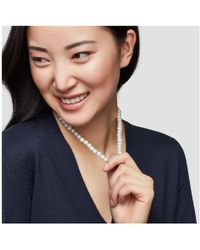 Joe Fresh - Faux Pearl And Crystal Necklace - Lyst