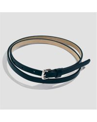 Joe Fresh - Classic Skinny Faux Leather Belt - Lyst