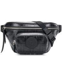 Fendi Embellished Nylon Belt Bag in Blue for Men - Lyst ef9e859303720