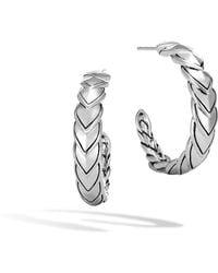 John Hardy - Naga Small Hoop Earring - Lyst