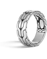 John Hardy - Classic Chain Band Ring - Lyst