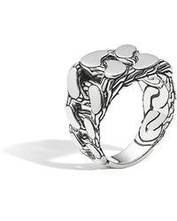 John Hardy - Classic Chain Signet Ring - Lyst