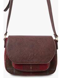 Joules - Darby Tweed Saddle Bag - Lyst