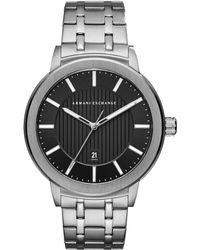 Armani Exchange - Ax1455 Men's Date Bracelet Strap Watch - Lyst
