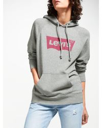 Levi's - Relaxed Batwing Hoodie - Lyst