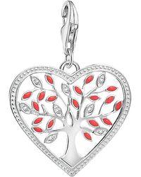 Thomas Sabo - Charm Club Tree Of Love Heart Charm - Lyst