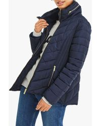 Oasis - Short Quilted Jacket - Lyst
