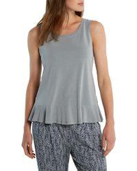 White Stuff - Ondine Peplum Jersey T-shirt - Lyst