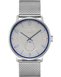 Ted Baker - Te50278002 Men's Owen Mesh Bracelet Strap Watch - Lyst